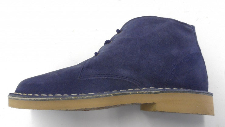 Ladies retro mod desert boots