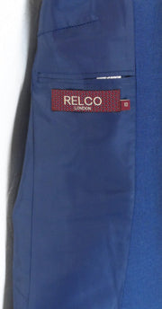 Ladies Relco Tonic Retro Mod Blue/Black Short Jackets