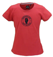 Stomp Ladies Red Keep The Faith Northern Soul T Shirts