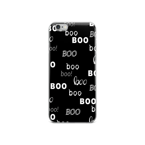 "Halloween ""Boo Pattern"" 