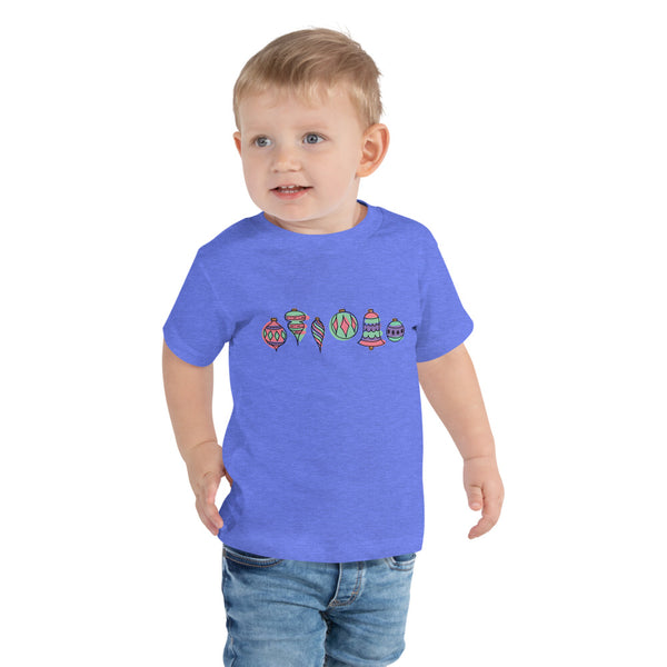 Festive Ornaments | Toddler Short Sleeve Tee