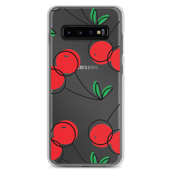 Cherry Fruit Art | Samsung Case