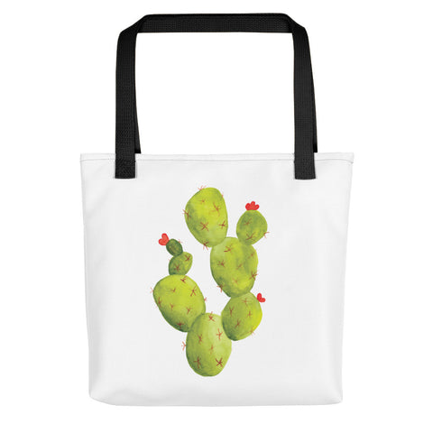 Prickly Pear Cactus Watercolor | Tote bag