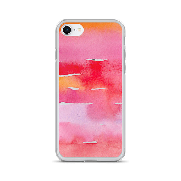 Reds Watercolor Painting | iPhone Case