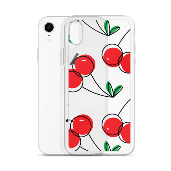 Cherry Fruit Art | iPhone Case