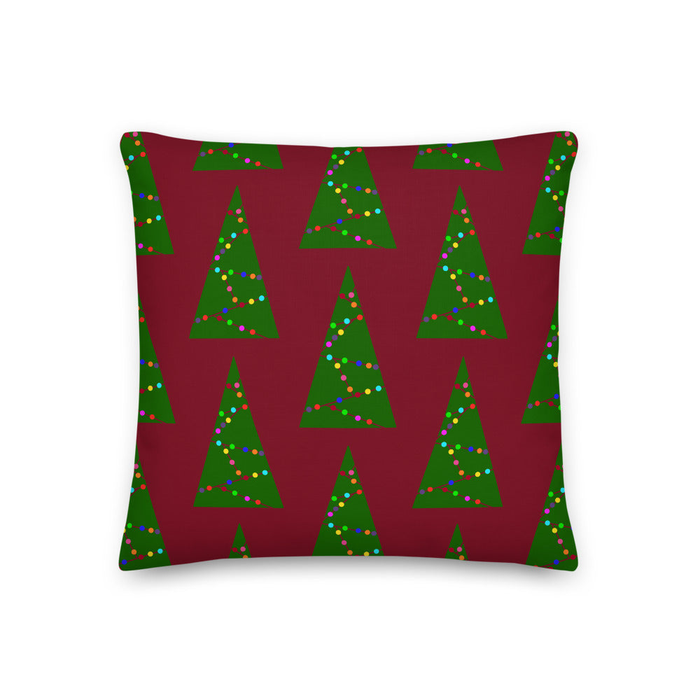 Graphic Tree Pattern | Throw Pillow