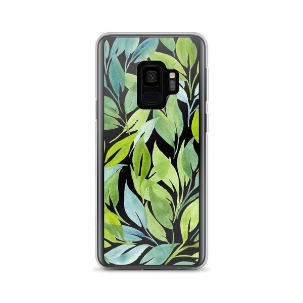 Watercolor Botanical Leaf Art | Samsung Case