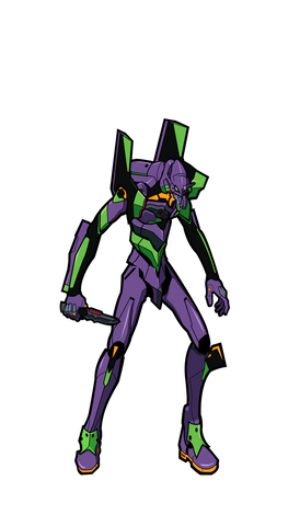 EVA Unit 01 XL #X35