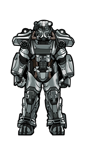 T-60 Power Armor XL #X6