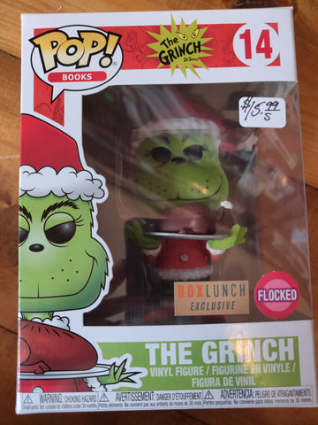 The Grinch Flocked Boxlunch Exclusive