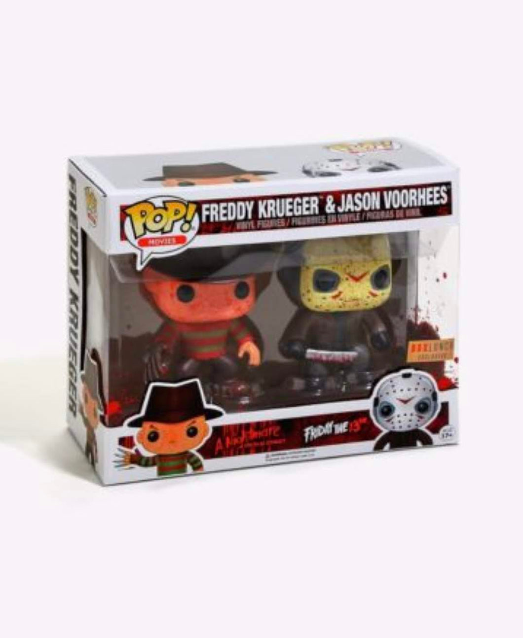 Freddy Krueger & Jason Voorhees Boxlunch Exclusive 2PK