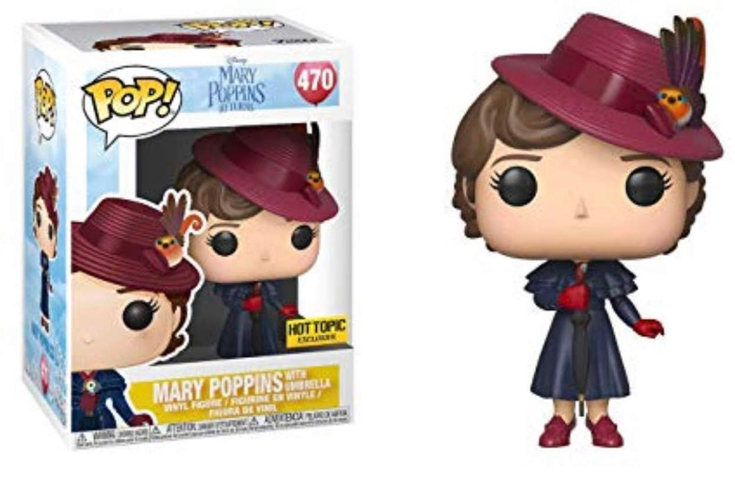 Mary Poppins with Umbrella Hot Topic Exclusive #470