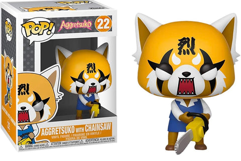 Aggretsuko with Chainsaw