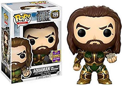 Aquaman and Motherbox SDCC Exclusive #199