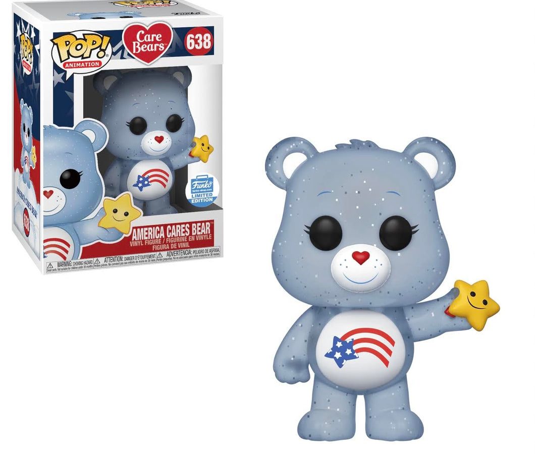 America Cares Bear Funko Exclusive #638