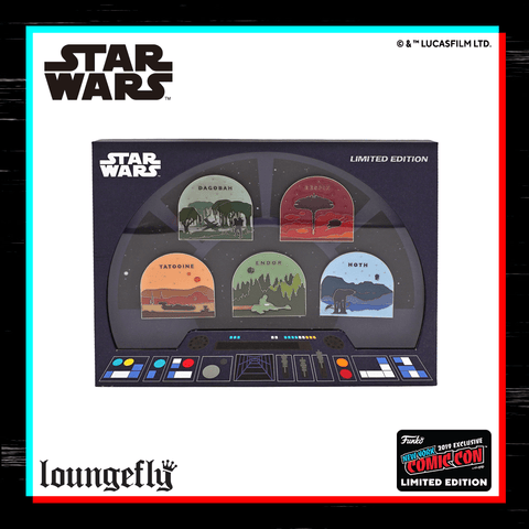 Star Wars NYCC Exclusive Pin Set