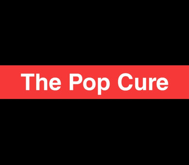 The Pop Cure Box Logo Sticker