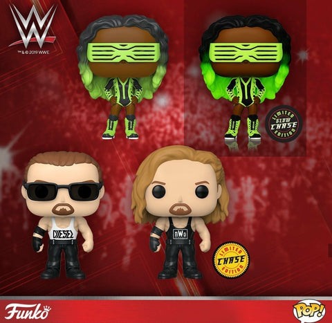 [PRE-ORDER] WWE Set of 4 with Chases