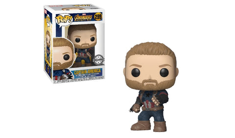 Captain America Walmart Exclusive #299