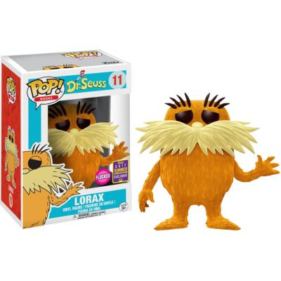 Lorax FLOCKED SDCC Exclusive #11
