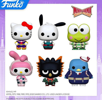 [PRE-ORDER] My Hero Academia Hello Kitty and Friends