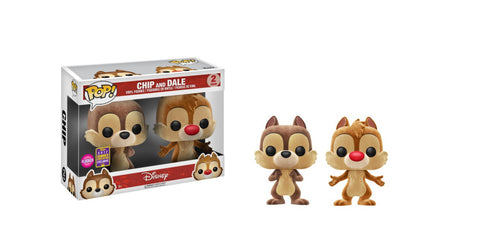 Chip and Dale 2017 SDCC Shared Exclusive 2pk