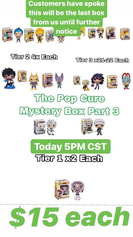 THE POP CURE ANIME MYSTERY BOX PART 3