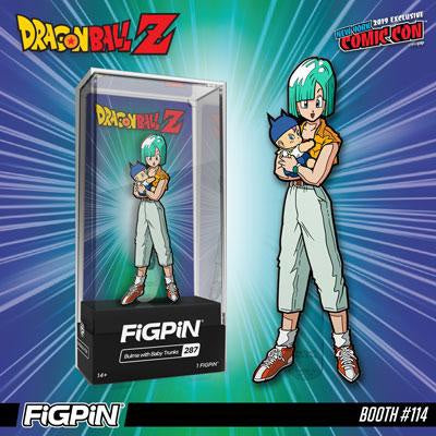 Bulma holding Baby Trunks Figpin NYCC Exclusive 1 of 1000