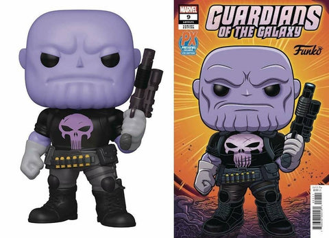 "[PRE-ORDER] Thanos 6"" PX Exclusive Pop & Comic"