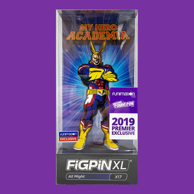 All Might XL NYCC Con Exclusive Figpin