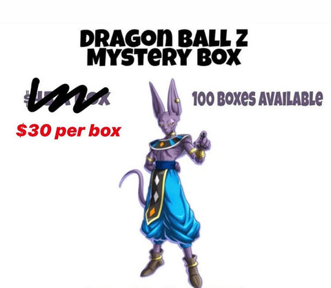 The Pop Cure Dragon Ball Z Mystery Box