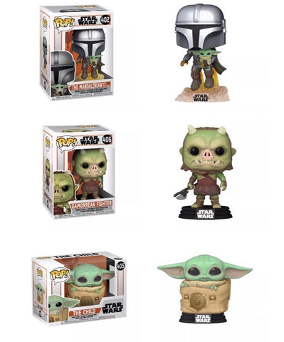 [PRE-ORDER] STAR WARS: MANDALORIAN POPs! WAVE 3