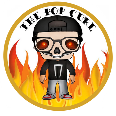 The Pop Cure Ghost Rider Logo