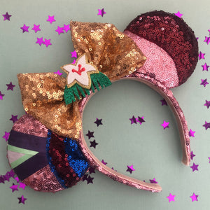 Warrior Princess - Mulan Inspired Mouse Ears