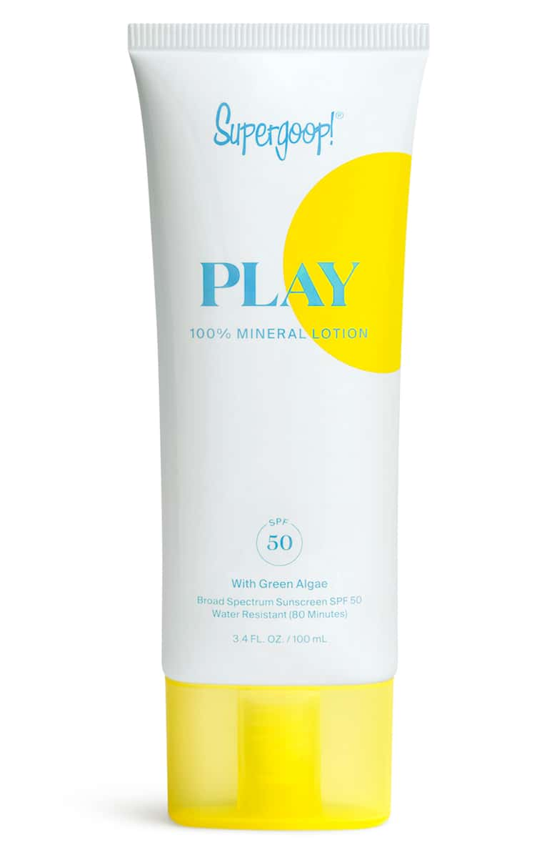 PLAY 100% Mineral Lotion SPF 50, 3.4 fl.oz.
