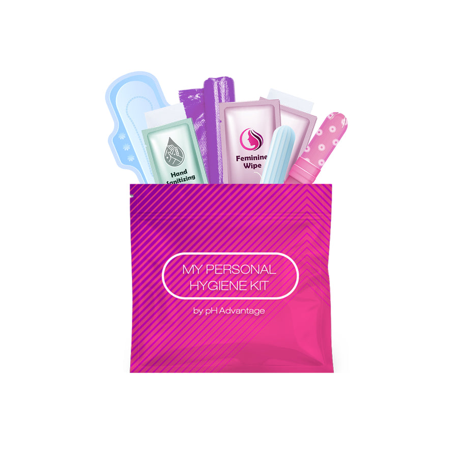 Feminine Hygiene Kit Pink Pack of 10