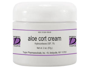 Topix Aloe Cort Cream (Hydrocortisone USP 1%)