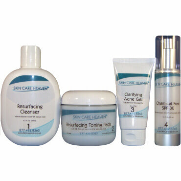 Skin Care Heaven Basic Acne Clarifying System