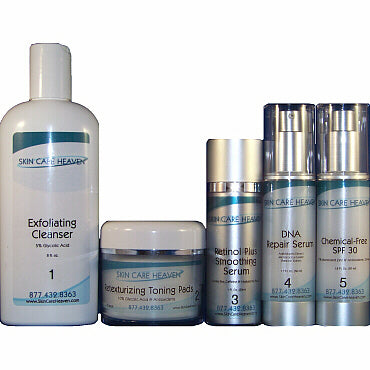 Skin Care Heaven Deluxe Anti-Aging System for Men