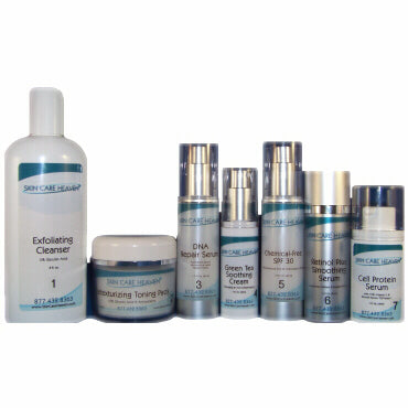 Skin Care Heaven Anti-Aging System for Normal to Oily Skin