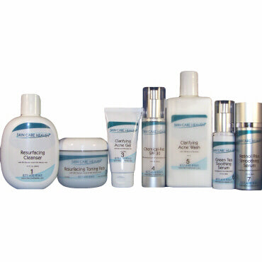 Skin Care Heaven Deluxe Acne Clarifying and Anti-Aging System