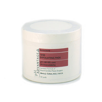 pH Advantage 10/50 Exfoliating Pads