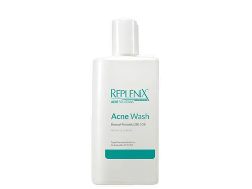 Replenix Acne Solutions Benzoyl Peroxide Acne Wash 10%