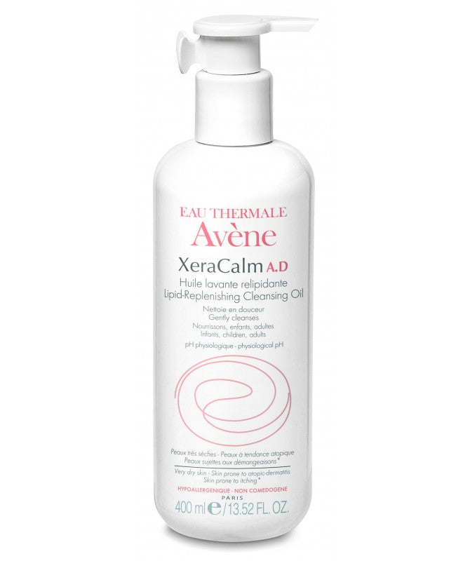 Avene XeraCalm A.D Lipid Replenishing Cleansing Oil