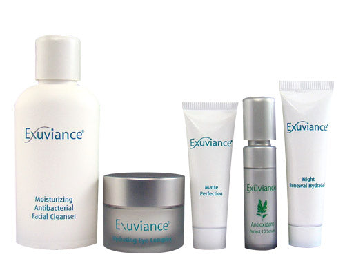 Exuviance Essentials Kit Oily/Acne Travel Collection