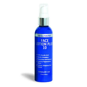 GlyDerm Face Lotion Plus 10