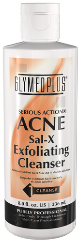 GlyMed Plus Serious Action Sal-X Exfoliating Skin Cleanser