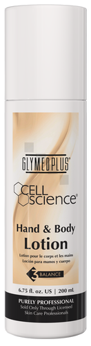 GlyMed Plus Cell Science Hand & Body Lotion