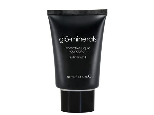 Glo-Minerals Protective Liquid Foundation Satin II - Golden