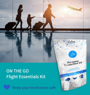 All-In-One Personal Protection Kits TO GO – Sanitary Kits for Optimal Protection